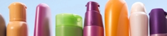 Colourful Shampoo Bottles